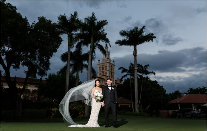 Biltmore Hotel Miami Wedding Photography