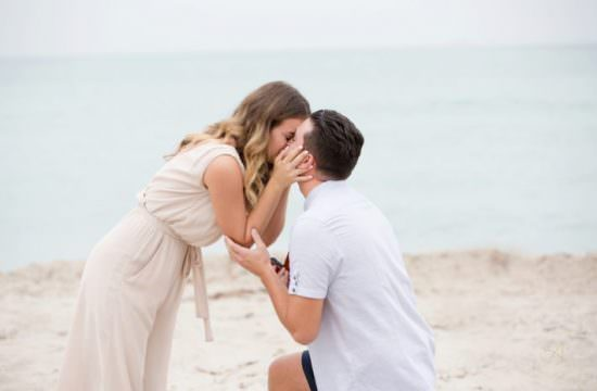 Miami Beach Wedding Proposal