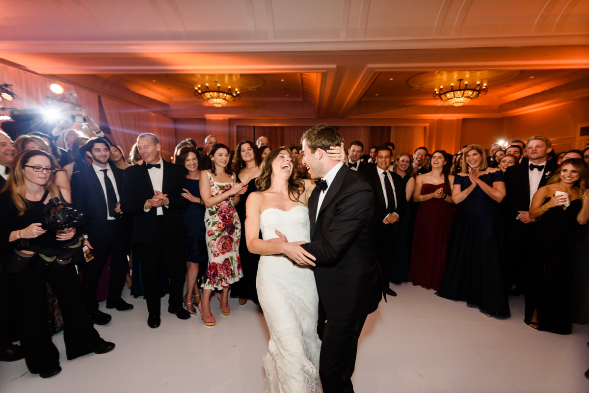 First dance during a wedding at the Ritz Carlton in Key Biscayne.